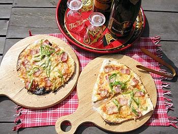 アウトドア派向けクリスピーピザの作り方とピザ釜(石釜)の楽しみ方