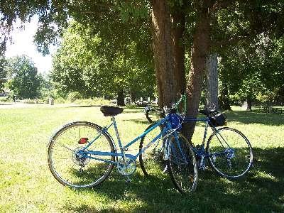 私たちの自転車