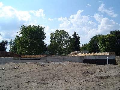 昨年、9月に基礎工事がスタート