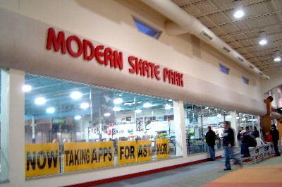 グランドラビッズにある、モータンスケートパーク