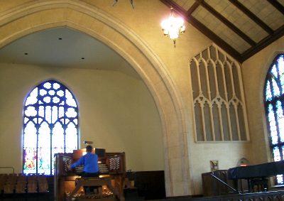 こちらは、Chancel Organ