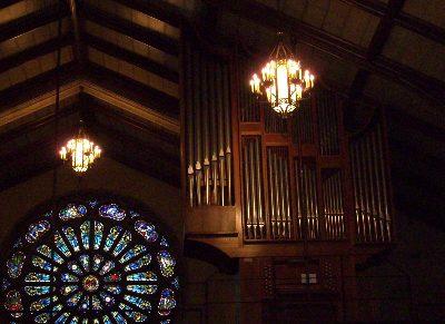 こちらは、Gallery Organ