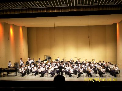 ミシガン州ハイスクールレベル最強吹奏楽団