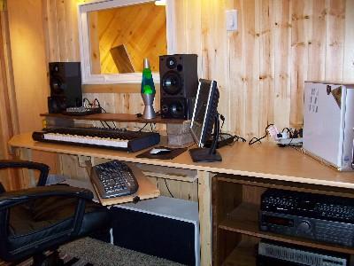 録音室の外側