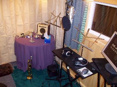 レコーディングスタジオのできあがり
