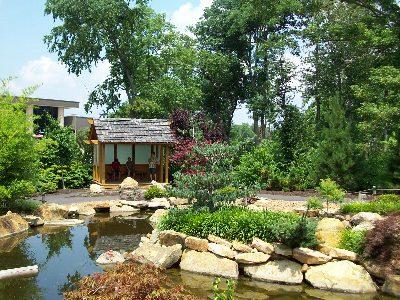 庭園はきれい