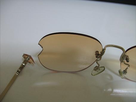 壊れた老眼鏡2
