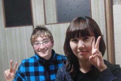 韓国からニッキが来ました。