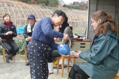 幸子農園に行きました