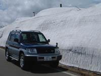 おっと雪山