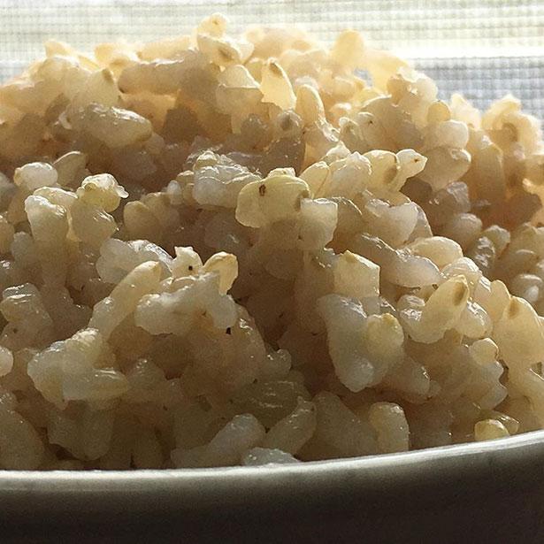 玄米ごはん1