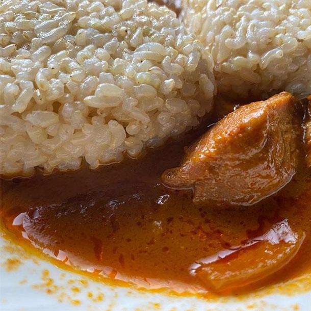 久々の玄米おむすび_2