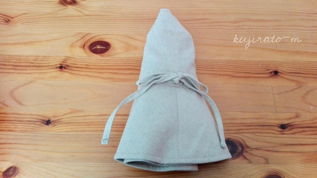 「絹屋」東急ハンズ限定商品の、内側がシルクのリネンコットン帽子は折りたためて便利