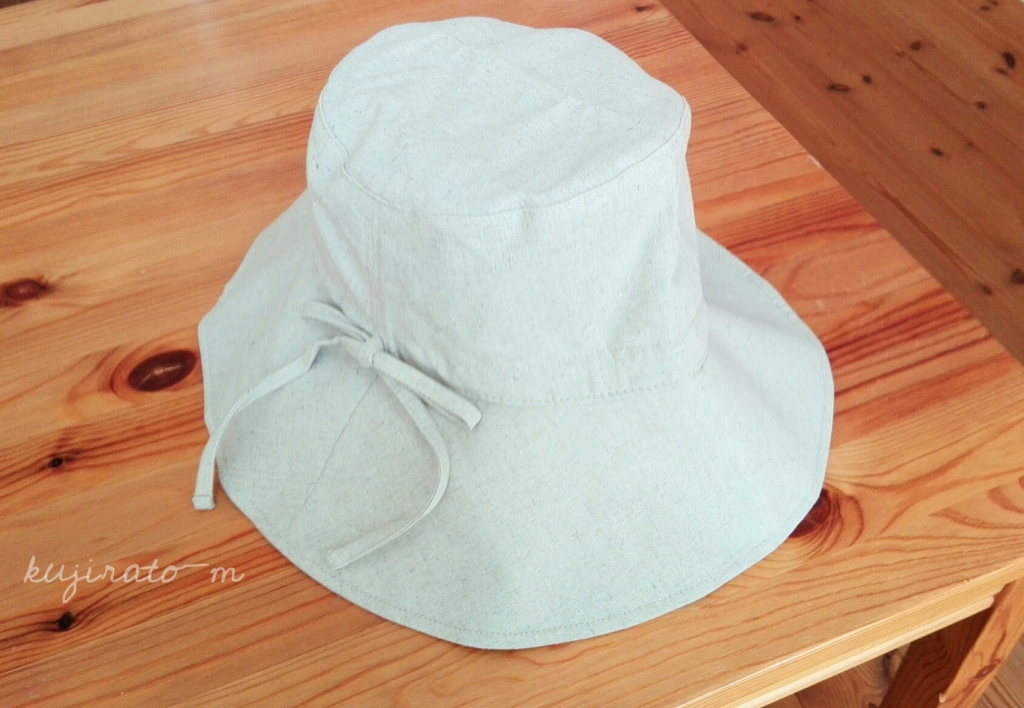 「絹屋」東急ハンズ限定商品の、内側がシルクのコンパクト帽子
