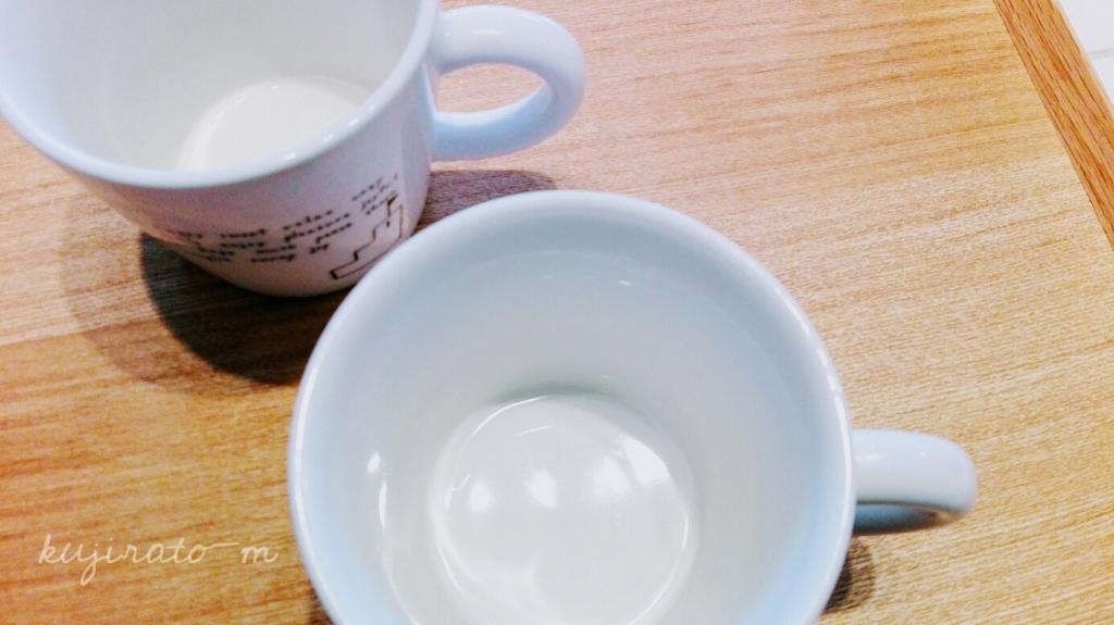 セリアのシンプルキッチンスポンジで、茶渋の汚れも取れた!