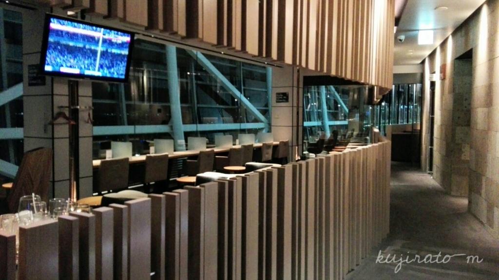 HISの関西国際空港ラウンジが、シックでモダンな大人の空間です。