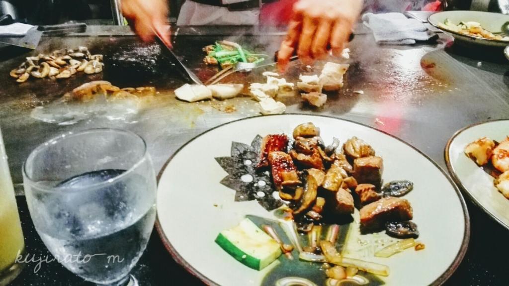 ヒルトンハワイアンビレッジ内『紅花』のディナーは、キッコーマン醤油を使った日本人の口にあう料理でした