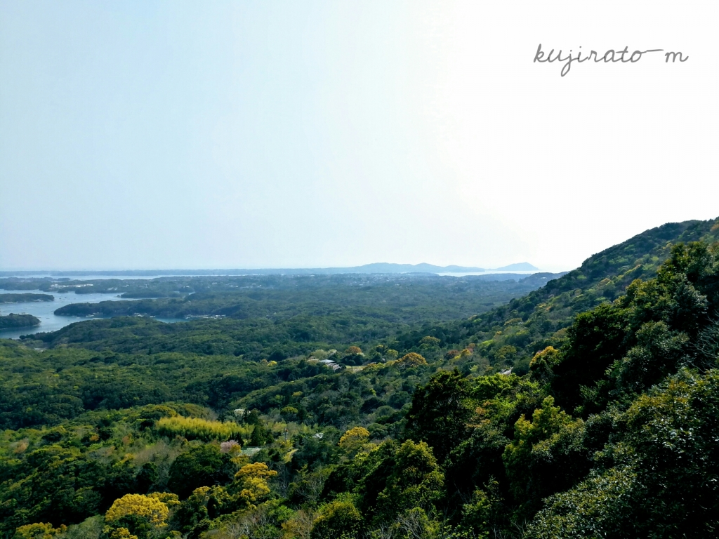 三重観光、横山展望台から見た綺麗な景色