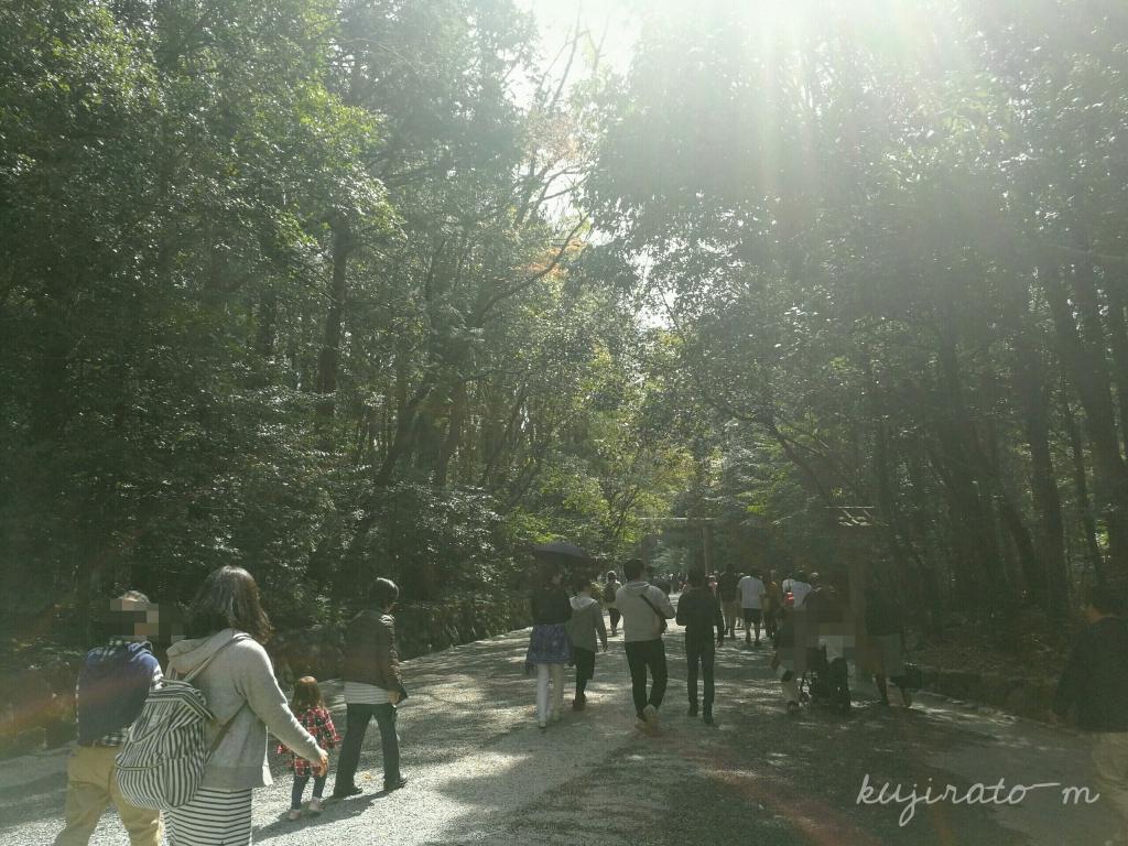 伊勢神宮がパワースポットと呼ばれるのにも納得の、森林浴
