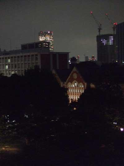 慶応大夜景