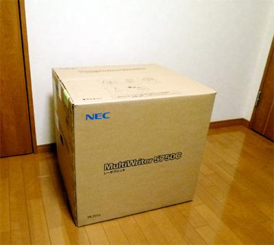 NECプリンタ