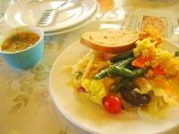 前菜のサラダバー