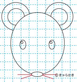 ネズミ(動物のイラスト)06
