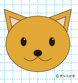 動物・イラストの描き方動物 イヌ完成3