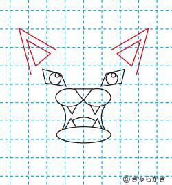 動物ライオン イラストの描き方 中級編08