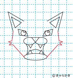 動物ライオン イラストの描き方 中級編09