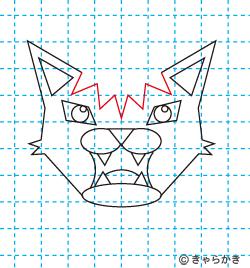 動物ライオン イラストの描き方 中級編10