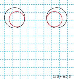 動物イラスト カエルのイラストの描き方02