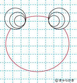 動物イラスト カエルのイラストの描き方04