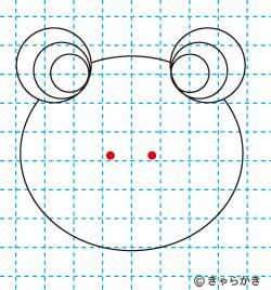 動物イラスト カエルのイラストの描き方05