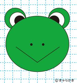 動物イラスト カエルのイラストの描き方 完成02