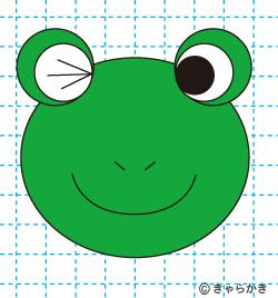 動物イラスト カエルのイラストの描き方 完成03