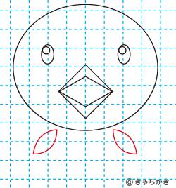 動物イラスト ヒヨコの描き方講座07