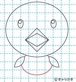 動物イラスト ヒヨコの描き方講座08