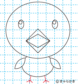 動物イラスト ヒヨコの描き方講座09