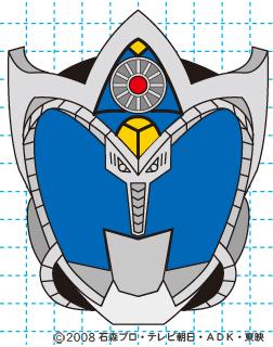 仮面ライダーキバ サガ イラストの描き方 完成01