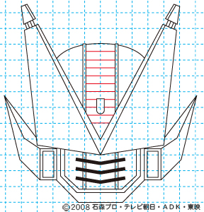 仮面ライダー電王 DEN-O FINAL INVITATION 劇場版 さらば電王 ストライクフォーム11 イラストの描き方