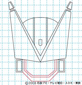 仮面ライダー電王 DEN-O FINAL INVITATION 劇場版 さらば電王 ストライクフォーム08 イラストの描き方