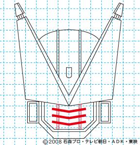 仮面ライダー電王 DEN-O FINAL INVITATION 劇場版 さらば電王 ストライクフォーム09 イラストの描き方