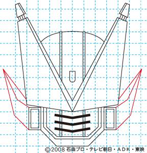 仮面ライダー電王 DEN-O FINAL INVITATION 劇場版 さらば電王 ストライクフォーム10 イラストの描き方