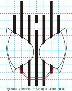 仮面ライダーディケイド05 イラストの描き方 DECADE
