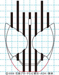 仮面ライダーディケイド06 イラストの描き方 DECADE