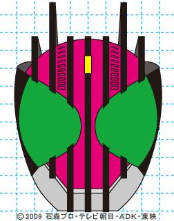 仮面ライダーディケイド完成01 イラストの描き方 DECADE
