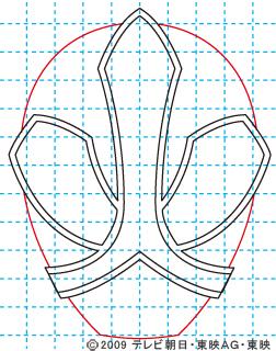 侍戦隊シンケンジャー シンケンレッド04 イラストの描き方 sinken