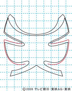 侍戦隊シンケンジャー シンケンピンク05 イラストの描き方 sinken