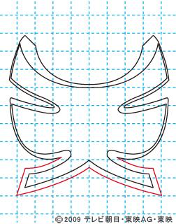 侍戦隊シンケンジャー シンケンピンク06 イラストの描き方 sinken